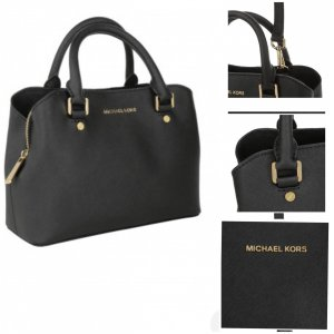 Michael Kors Small Savannah Leather Satchel Bag