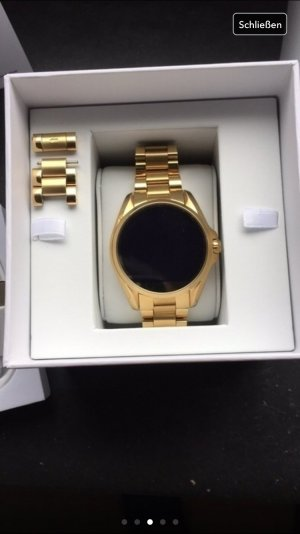 Michael kors Smart watch Gold