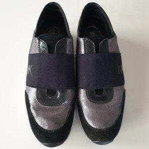 Michael Kors Slip-on Sneakers black-silver-colored