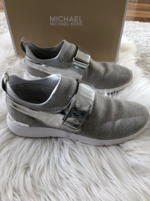 Michael Kors Velcro Sneakers silver-colored-light grey