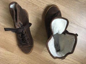 Michael Kors Sneaker braun Größe 37 gefüttert