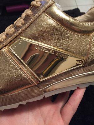 Michael Kors Sneaker Gold Neu!