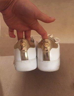 Michael Kors sneaker Gold weiß