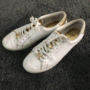 Michael Kors Sneaker Gr. 39 weiß und gold