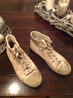 Michael Kors Sneaker stringata beige