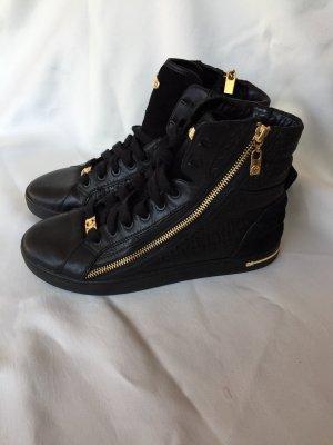 Michael Kors Sneaker gr 8M / 39 schwarz Gold