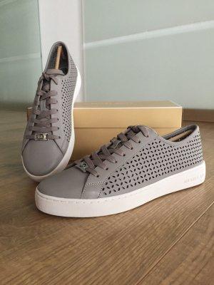 Michael Kors Sneakers zilver-grijs Leer