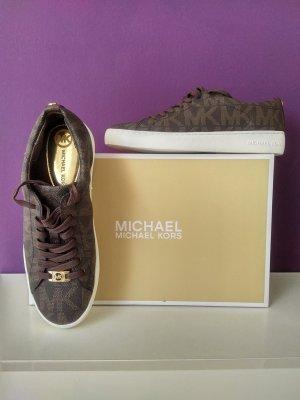 Michael Kors Lace-Up Sneaker brown
