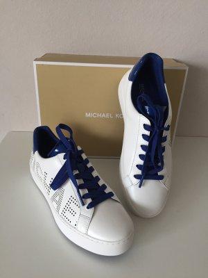 Michael Kors Sneaker Neu Gr. 39 9 M Schuhe weiß Poppy lace up