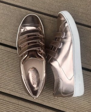 Michael Kors Velcro Sneakers rose-gold-coloured-bronze-colored