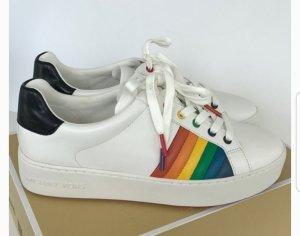 Michael Kors Sneaker Schuhe Poppy weiß Größe 38 US 8 NEU