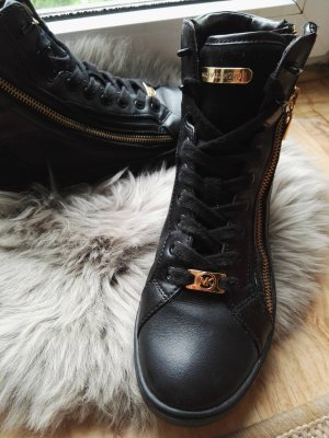 Michael Kors sneaker schwarz gold knöchel hoch gr.37