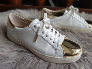 Michael Kors Sneaker weiss gold Leder Gr.38