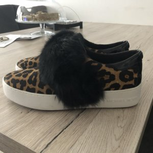 Michael Kors Basket slip-on noir-brun