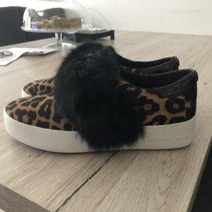 Michael Kors Slip-on Sneakers black-brown