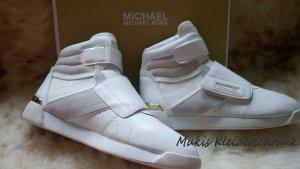 Michael Kors Sneakers Addie aus Leder und Segeltuch *** NEU ***