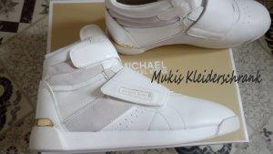 Michael Kors Sneakers Addie aus Leder und Segeltuch *** NEU *** Letzter Preis