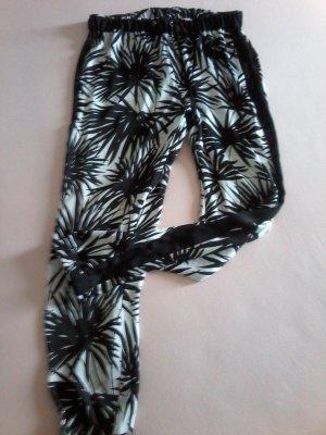 Michael Kors Sommerhose schwarz -weiß