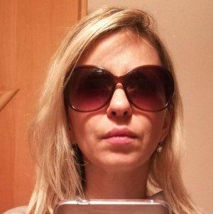 Michael Kors Lunettes de soleil brun foncé