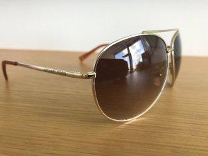 Michael Kors Sonnenbrille  braun Gold