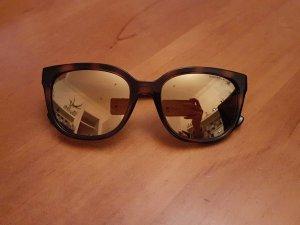 Michael Kors Sonnenbrille im braunton mit Verspiegelung