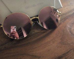 Michael kors sonnenbrille, Rosé, Gold, metallic, verspiegelt