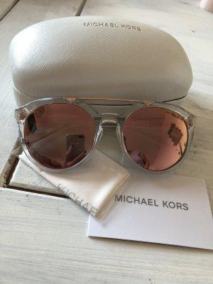 Michael Kors Sonnenbrille Roségold verspiegelt neu MK 2076 Cape May