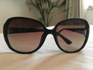 Michael Kors Sonnenbrille schwarz mit goldenen Details