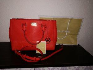 Michael Kors Bolso rojo Cuero