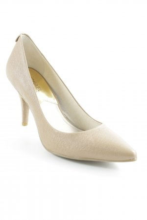Michael Kors Pointed Toe Pumps beige business style
