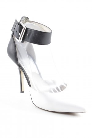 Michael Kors Pointed Toe Pumps black-white business style