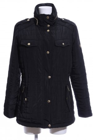 Michael Kors Steppjacke schwarz Steppmuster Casual-Look