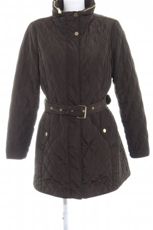 Michael Kors Quilted Jacket green grey casual look