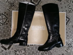Michael Kors Riding Boots black leather