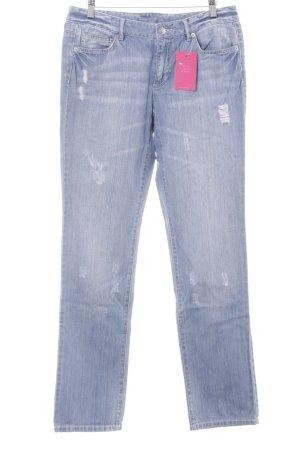 Michael Kors Straight-Leg Jeans himmelblau Casual-Look