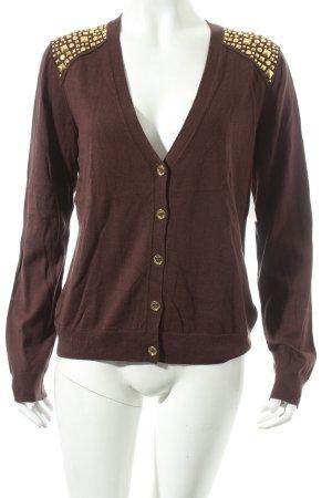 Michael Kors Cardigan brown street-fashion look