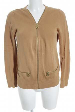 Michael Kors Strickjacke camel Casual-Look