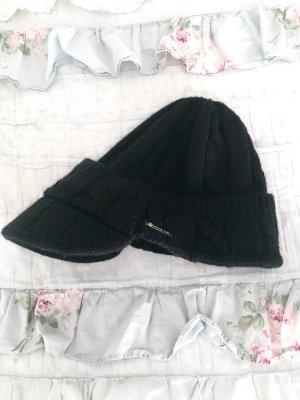 Michael Kors Chapeau en tricot noir-argenté