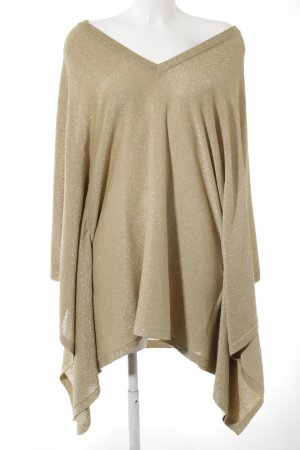 Michael Kors Strickponcho goldfarben Casual-Look