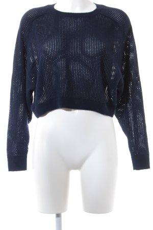 Michael Kors Maglione lavorato a maglia blu scuro Motivo a maglia leggera