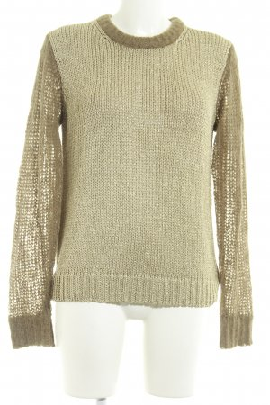 Michael Kors Strickpullover goldfarben-beige Casual-Look
