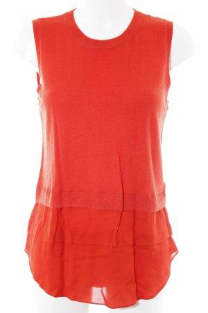 Michael Kors Haut tricotés rouge style décontracté