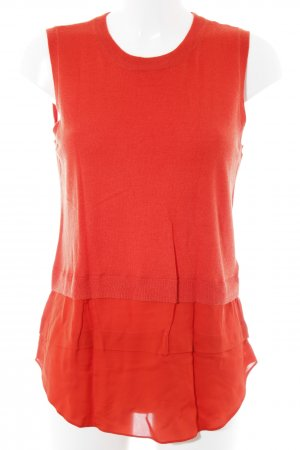 Michael Kors Stricktop rot Casual-Look