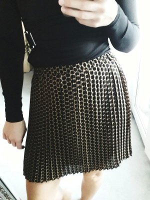Michael Kors Pleated Skirt black-bronze-colored