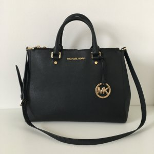 Michael Kors Sutton LG Satchel Black
