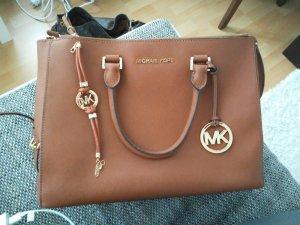 Michael Kors Sutton Md cognac + Armband