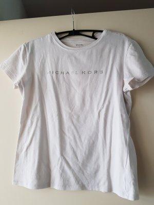 Michael Kors T Shirt mit Glitzer Aufschrift
