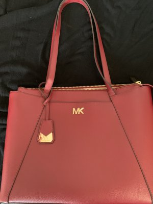 Michael Kors Borsa shopper rosso scuro