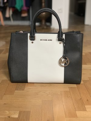 Michael Kors Carry Bag black-white