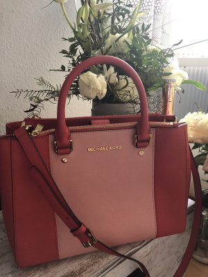 Michael Kors Sac à main rouge clair